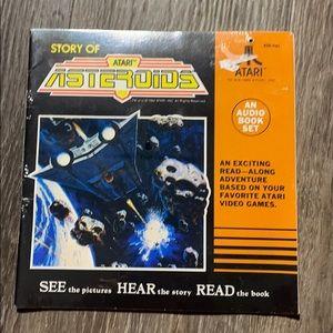 Vintage Atari Asteroids Record & Read along NEW